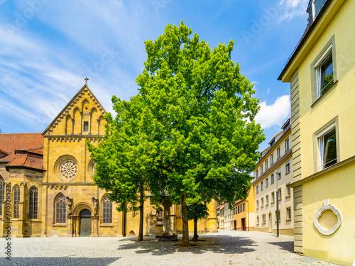 Deurstickers Oude gebouw Schweinfurt
