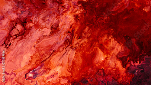 Abstract red paint background Fototapeta