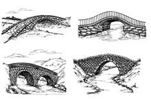 Stone Bridges Set. A Collectio...