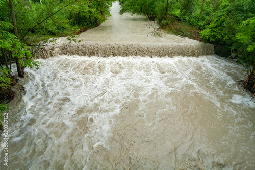 rivers in full climate change streams and rivers Italy Wallpaper Mural