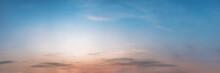 Dramatic Panorama Sky With Clo...
