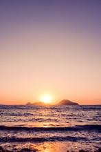 Summer Sunset At The Mediterra...