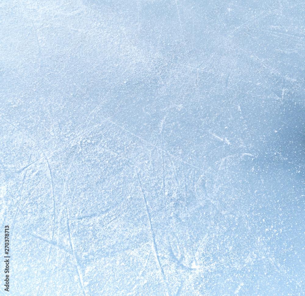 Fototapety, obrazy: ice structure of frozen lake