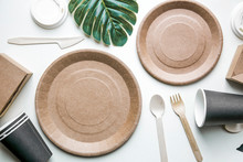 Eco Friendly Disposable Dishes...