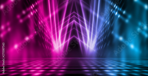 Fotomural Background of empty stage show