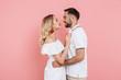 Leinwandbild Motiv Attractive young couple