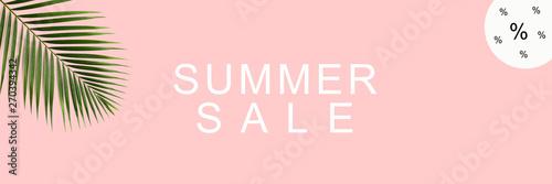 Summer Sale / Textfreiraum / Banner