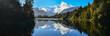 Reflection of Lake Matheson,South Island New Zealand
