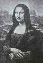 The Mona Lisa Or La Gioconda ...