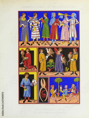 Obraz na plátně Manuscript фке