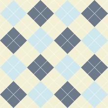 Seamless Checkered Pattern Of ...