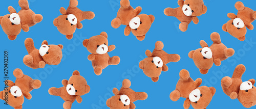 Teady bear dolls pattern