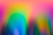 canvas print picture - Spectrum abstract vaporwave holographic background, trendy colorful backdrop in pastel neon color. For creative design cover, CD, poster, book, printing, gift card, fashion web and print