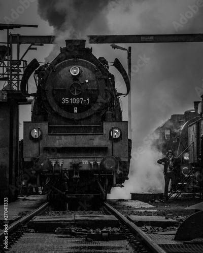 parade of steam engines