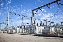 Several Elements And Units That Make Up A Local Power Station