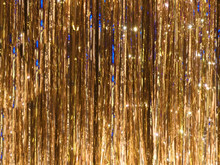 Vibrant Metal Foil Tinsel Background