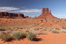 Paysage Monument Valley , état Unis ,arizona , Road Trip