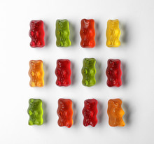 Delicious Color Jelly Bears On...