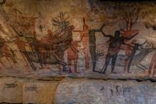Petroglyph Cave Painting Repro...