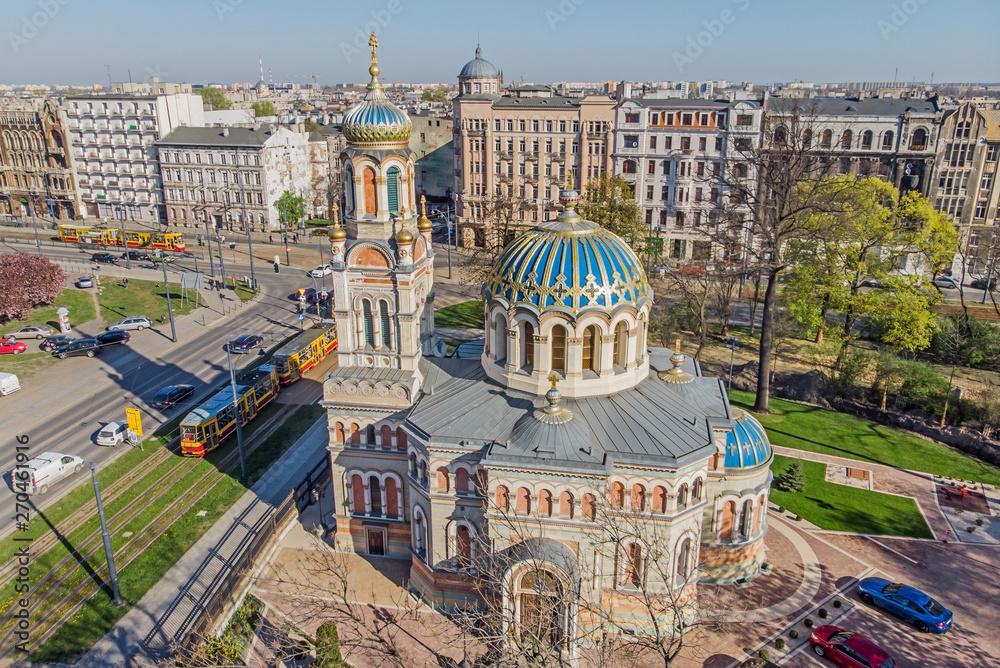 Fototapety, obrazy: Łódź - Cerkiew Katedralna