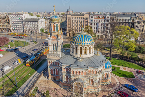 Obraz Łódź - Cerkiew Katedralna - fototapety do salonu
