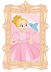 Little Cute Princess Portrait