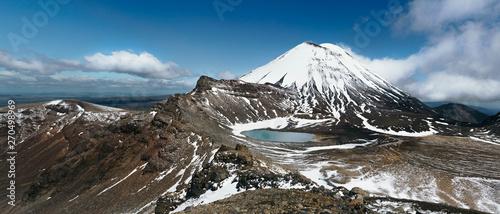 Tongariro Alpine Crossing in New Zealand 1 Canvas Print