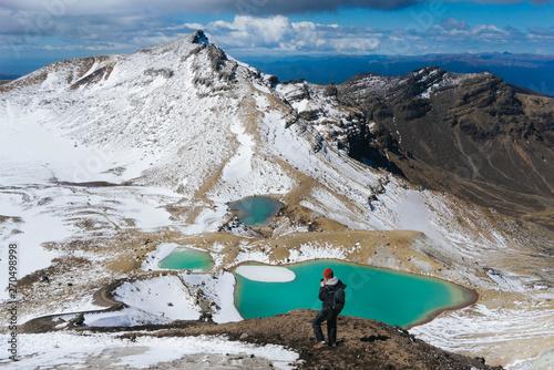 Tongariro Alpine Crossing 6 Emerald Lakes Wallpaper Mural