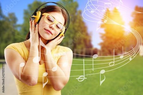 Photo sur Toile Les Textures Music.