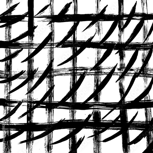 Plakaty czarno białe   brush-grunge-pattern-white-and-black-vector