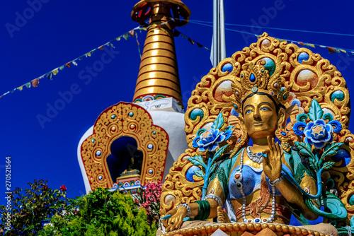 Cuadros en Lienzo Buddhist temple Dag Shang KagyuDag