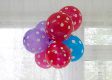 Bright Balloons - Red, Blue An...