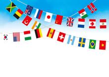 青空の世界国旗