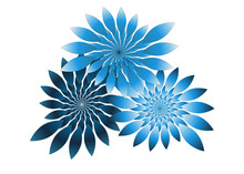 Isolated Fractal Flowers Bouqu...