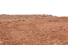 Large Areas Of Gravel Land And...