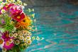 Leinwandbild Motiv Summer flowers design