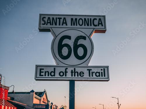 Route 66 Santa Monica Route 66 - End of Trail