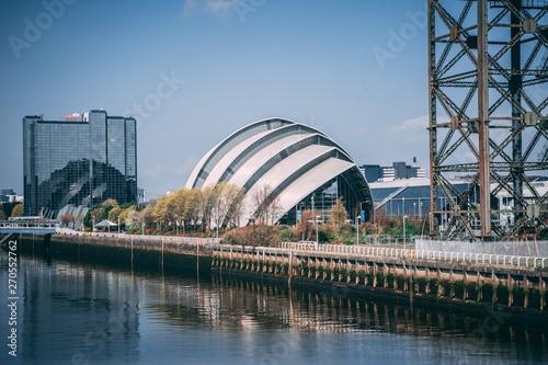 Staande foto Singapore Glasgow River