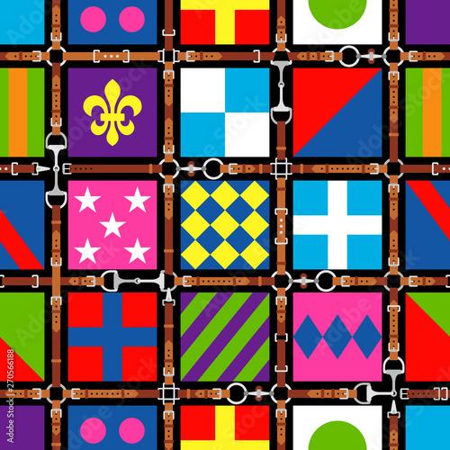 Tablou Canvas Seamless pattern