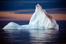 Isolated Iceberg  Off The Coas...