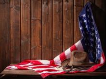Flag Hat And Horseshoe