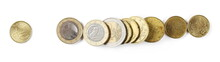 Euro Coins, Money Isolated On ...