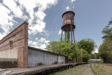 Giant Water Tower Looms Of Aba...