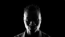 Dark Portrait Of An African Man