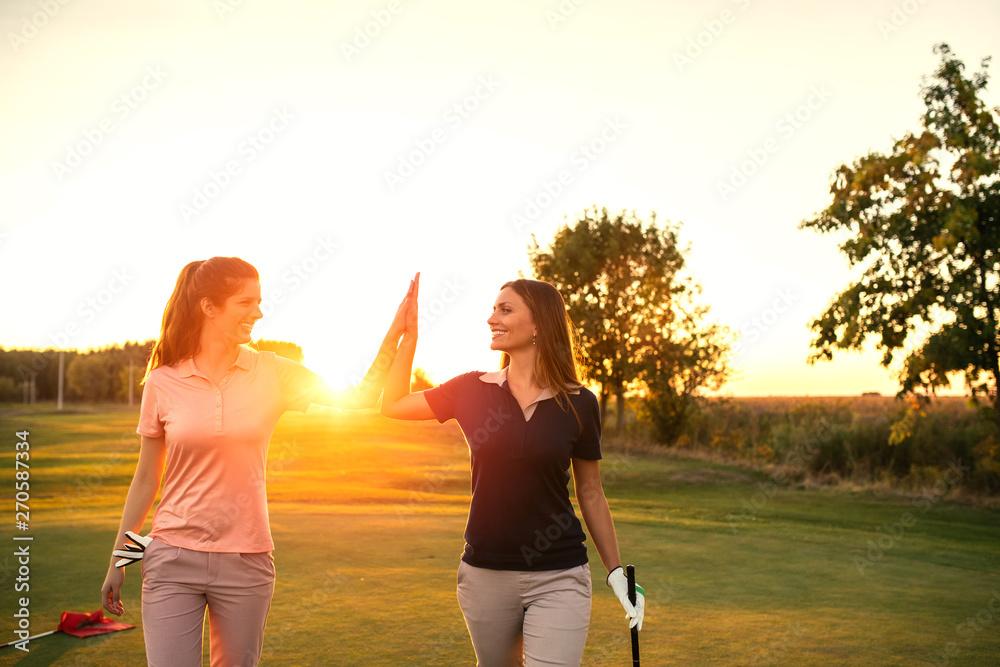 Fototapety, obrazy: Good game of golf!