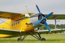 Soviet Aircraft Biplane Antono...