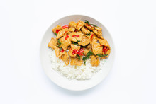 Rice With Stir-fried Hot And S...