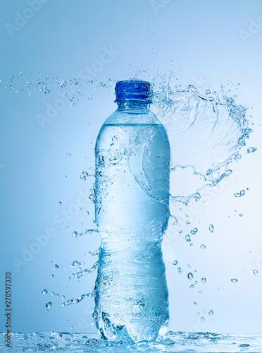 Obraz na płótnie bottle of water