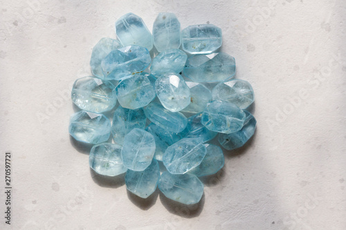 Photo Aquamarine stone