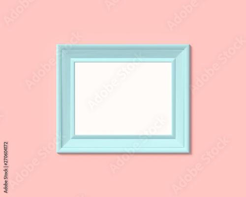 3x4 horizontal landscape picture frame mockup  Realisitc